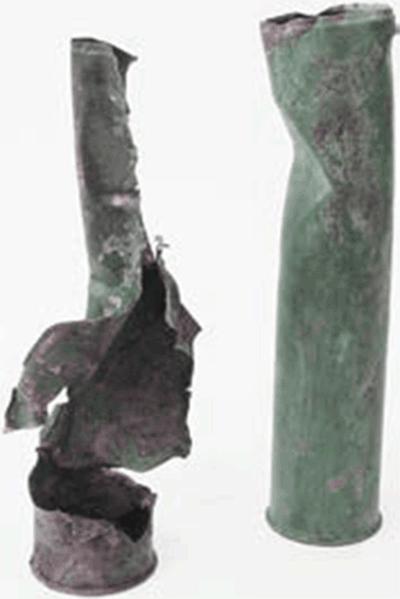 ГИЛЬЗЫ АРТИЛЛЕРИЙСКИХ ПАТРОНОВ1939 Металлы и сплавы; заводское изготовлениеГБУ «МВК»