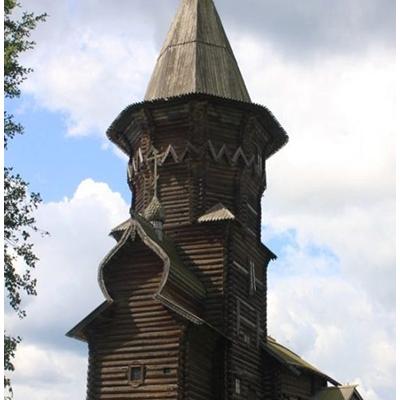 Деревянное зодчество Русского севера. Храмы часть 2