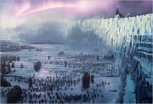 песнь льда и огня, ледяная стена